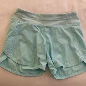 Light blue Ivivva shorts size 12